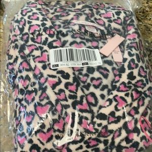 Victoria's Secret cheetah heart robe
